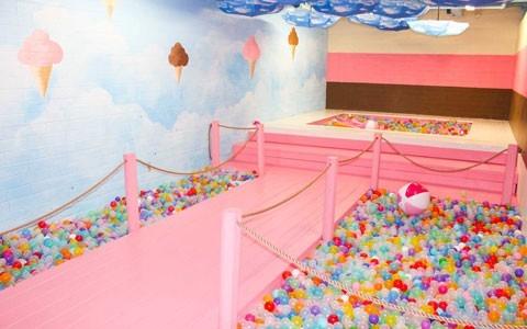 Ice cream cone room